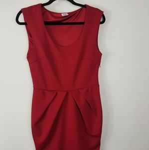 Vero Moda red mini dress size 40